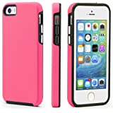 CellEver Compatible with iPhone 5/5s/SE (2016 Edition) Case, Dual Guard Protective Shock-Absorbing Scratch-Resistant…