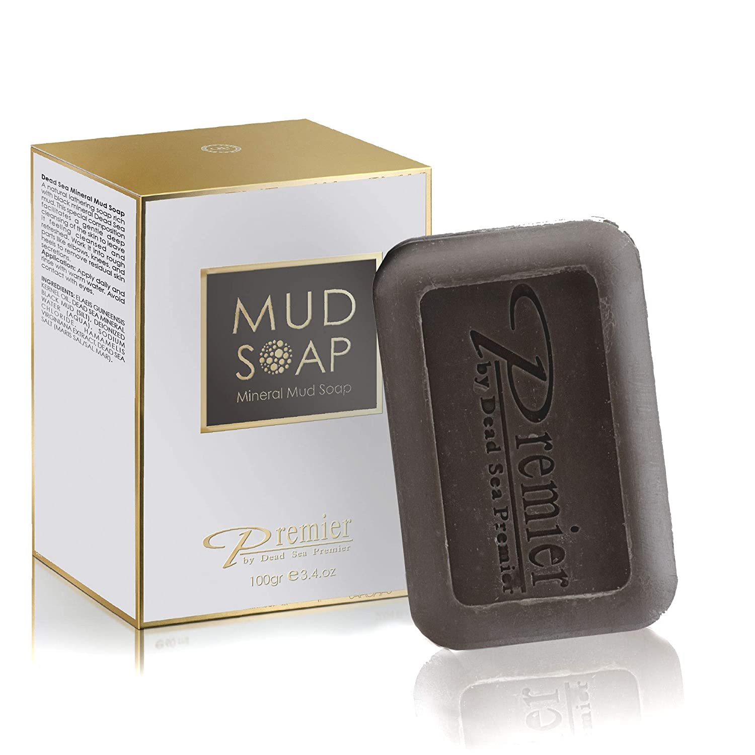 Premier Dead Sea Classic Mineral Mud Soap, Healthy & glowing skin S3