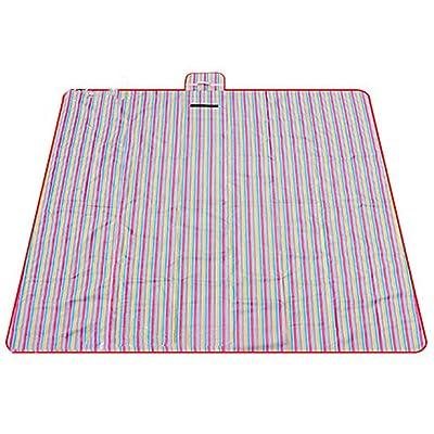 Extérieure étanche à l'humidité Coussin Pique-nique Tour de printemps Épaissir Pelouse Tapis de sol Tapis de sol imperméable Pliage portable