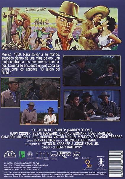 El jardín del diablo [DVD]: Amazon.es: Gary Cooper, Susan Hayward ...