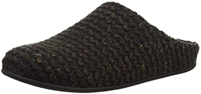 4130e89eed0e Fitflop Women s Chrissie Knit Open Back Slippers  Amazon.co.uk ...