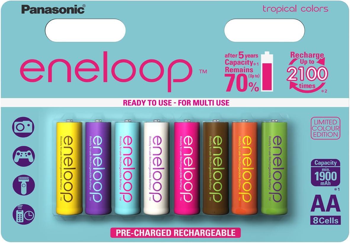 Panasonic Eneloop Aa Mignon Limitierte Tropical Edition Elektronik