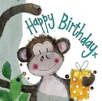 Alex Clark - Bolsa de regalo para cumpleaños, diseño de mono ...