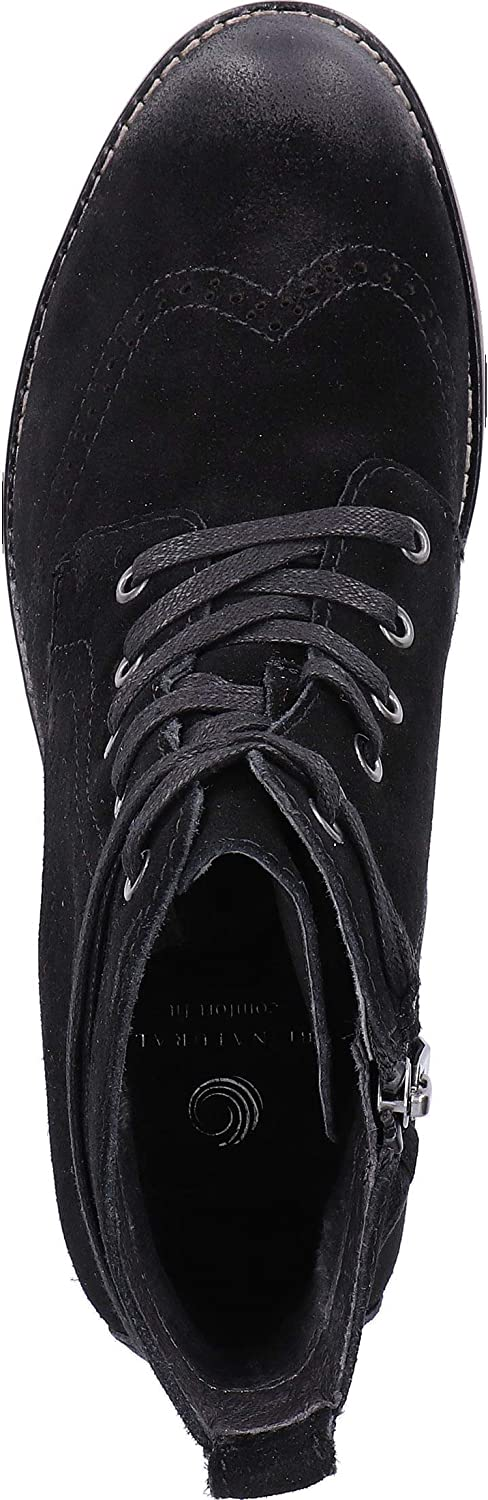 Be Natural 8-8-25200-21, Scarpe Basse Donna Nero