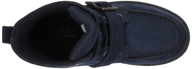 Polo Ralph Lauren  Ranger Hi Ii Fashion Boot B06Y141CZK 13 Medium US Little Kid Navy Nubuck