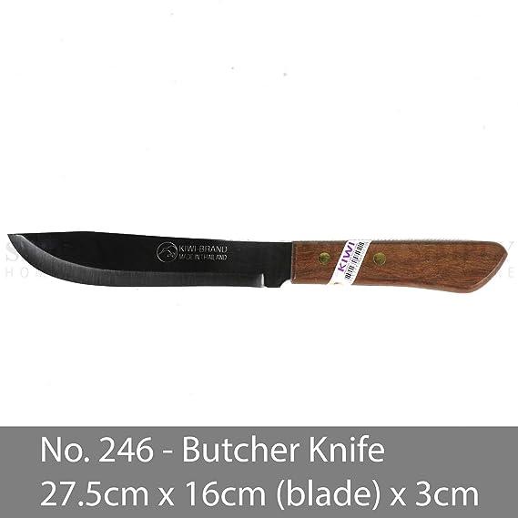 Kiwi 171 - Cuchillo tailandés (mango de madera, 28 cm ...