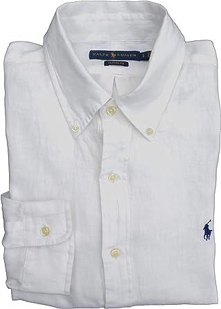 Ralph Lauren Classic Fit - Camisa de manga larga para hombre: Amazon.es: Ropa y accesorios