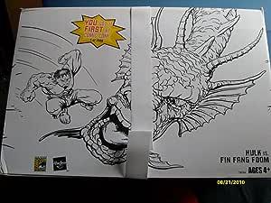 Marvel Legends Hulk Set of 8 Fin Fang Foom