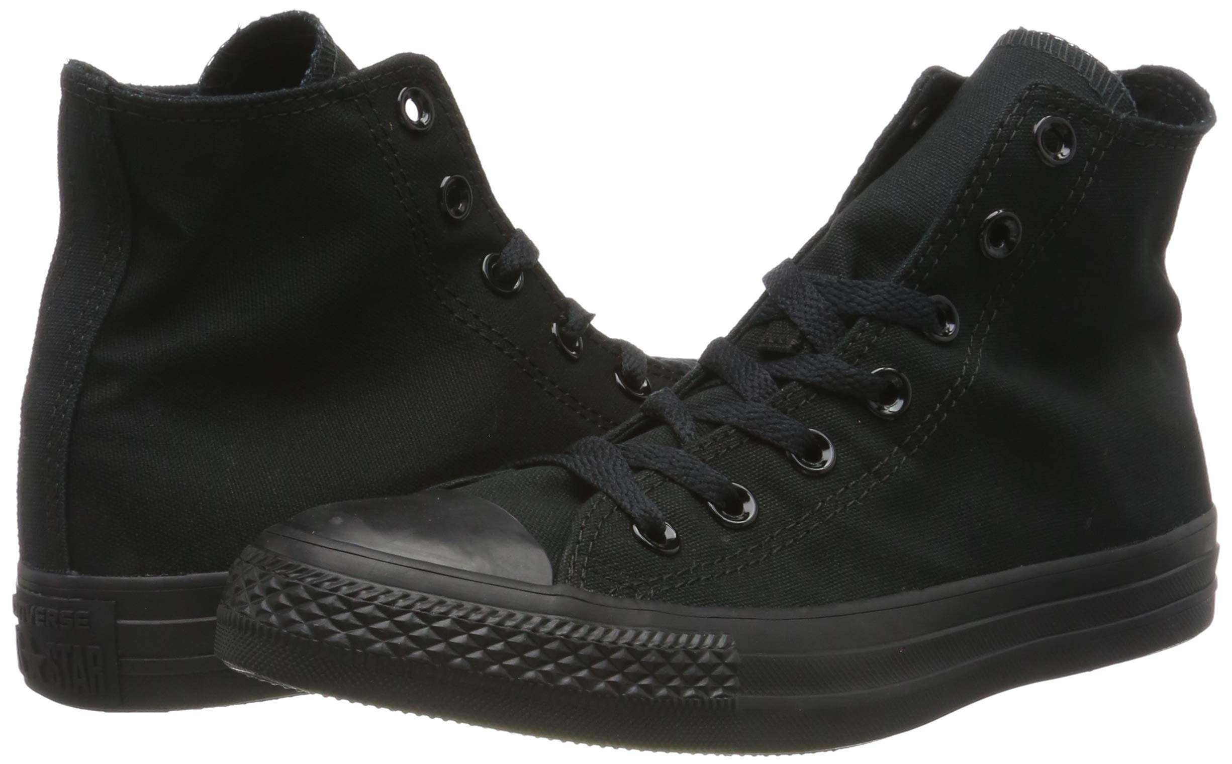 Converse M9160: Chuck Taylor All Star High Top Unisex Black White Sneakers by Converse (Image #6)