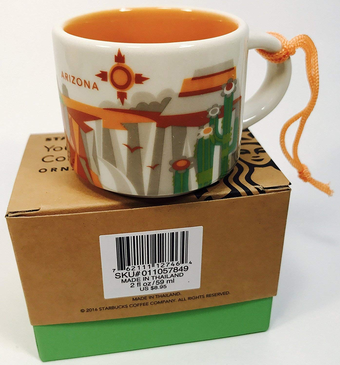 Las Vegas Starbucks You Are Here Ornament 2oz Coffee Cup