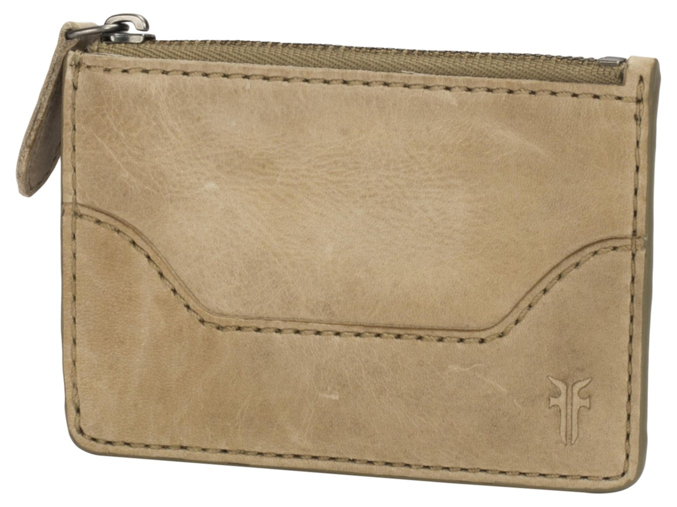 FRYE Women's Melissa Key Credit Card Holder, Sand, One Size