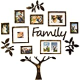 Jerry & Maggie - Photo Frame | Plaque College Frame - Wall Decoration Combination - Brown PVC Picture Frame Selfie Gallery Co