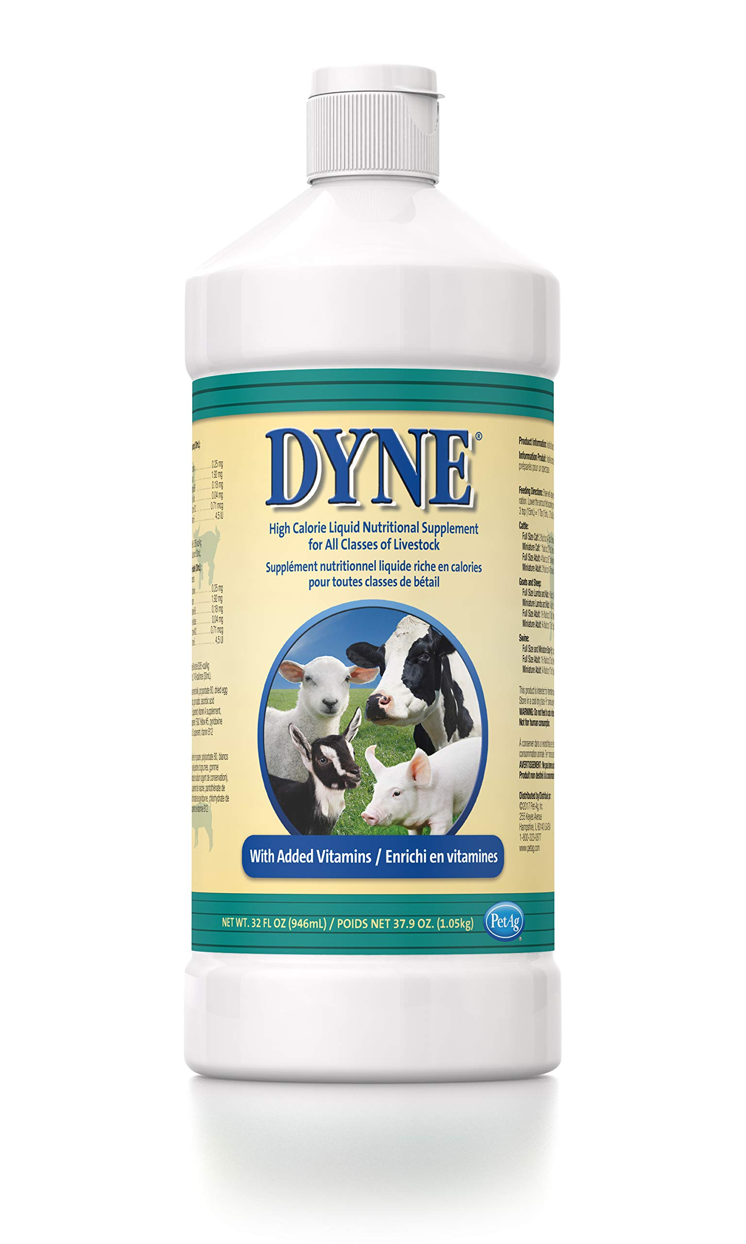Dyne High Calorie Liquid for Livestock, 32 oz by Dyne