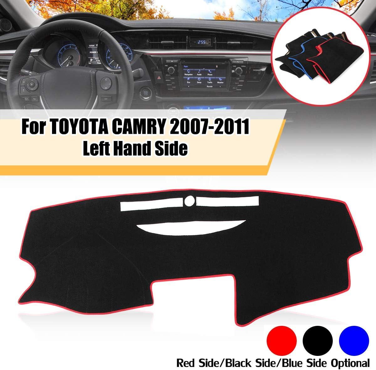 Sala-Store Dashboard Cover Dash Mat Dash Pad Dashmat Anti-Slip Carpet for Toyota Camry 2007 2008 2009 2010 2011