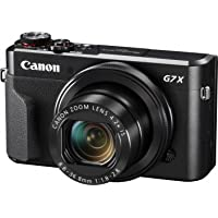 Canon Powershot G7X Mark II Digital Camera(G7XII) 3 Inch display,Black (Australian warranty)