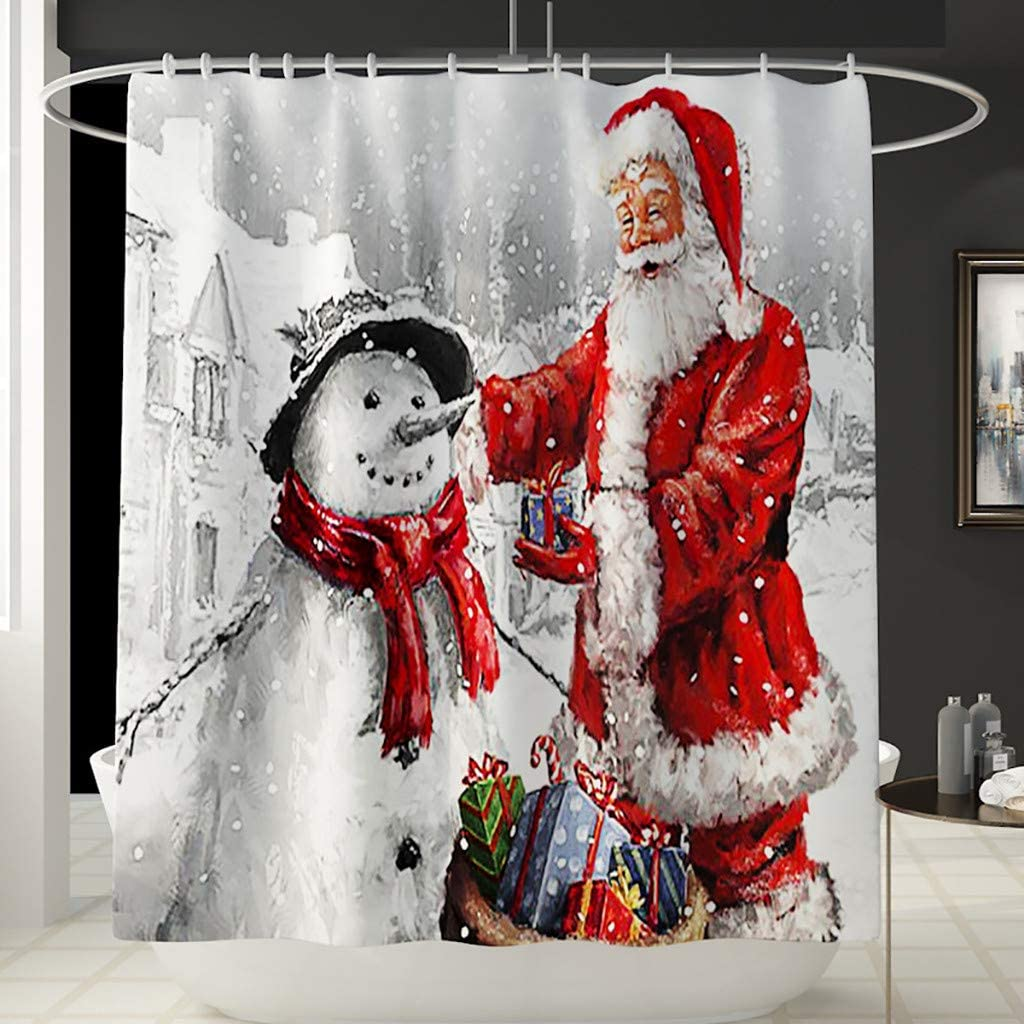 BEERICHH Shower Curtain...
