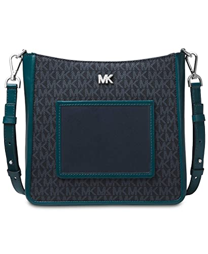 6aa558e5bcdff MICHAEL Michael Kors Gloria Pocket Swing Pack Crossbody (Admiral Luxe Teal)