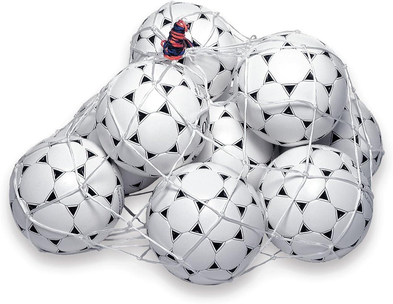 White Rucanor 13147-13 Nylon Ball Net 10 Balls