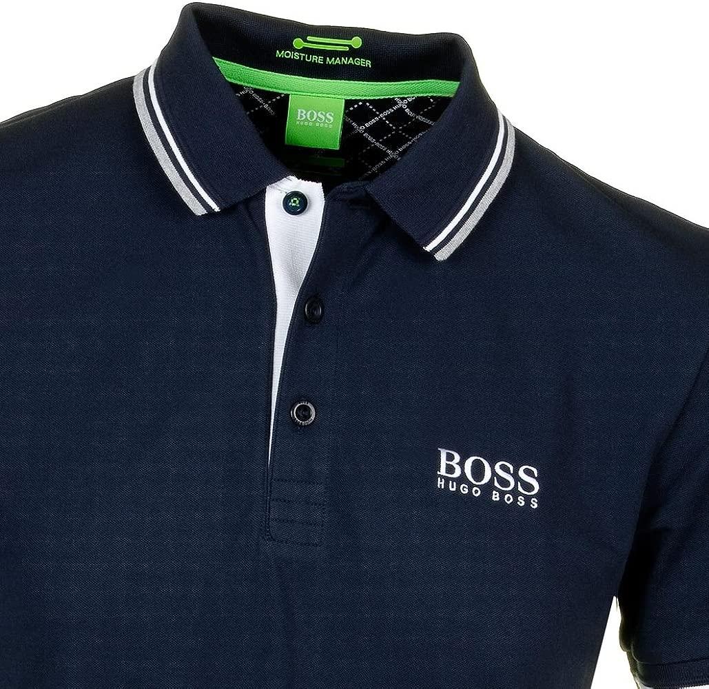 BOSS Hugo Polo - Básico - Clásico - para Hombre Azul Azul Marino ...