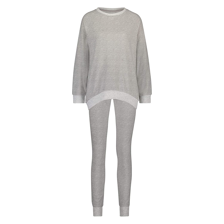 Hunkemöller Damen Pyjamaset Fleece