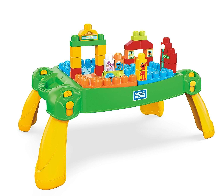 Mega Bloks Sesame Street Build & Learn Neighborhood Table Set Fisher Price / Mattel Canada FWF03