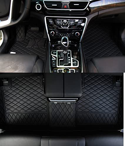 Worth-Mats Custom Fit Luxury XPE Leather Waterproof Floor Mat for Porsche Cayenne 2011-