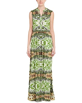 Alice Olivia Womens Marianna Maxi Dress 0 Green At Amazon