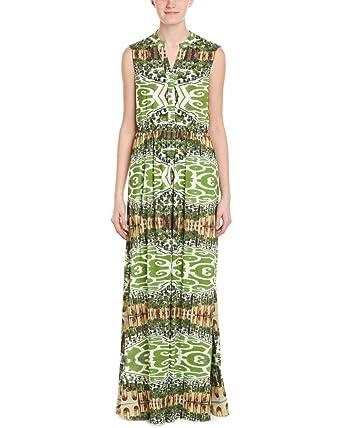 alice + olivia Womens Marianna Maxi Dress, 0, Green at Amazon ...