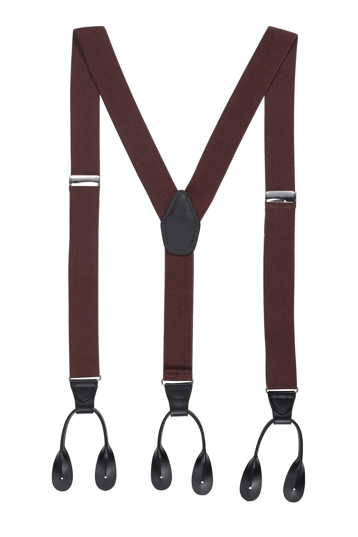Mens Button End Suspenders 49
