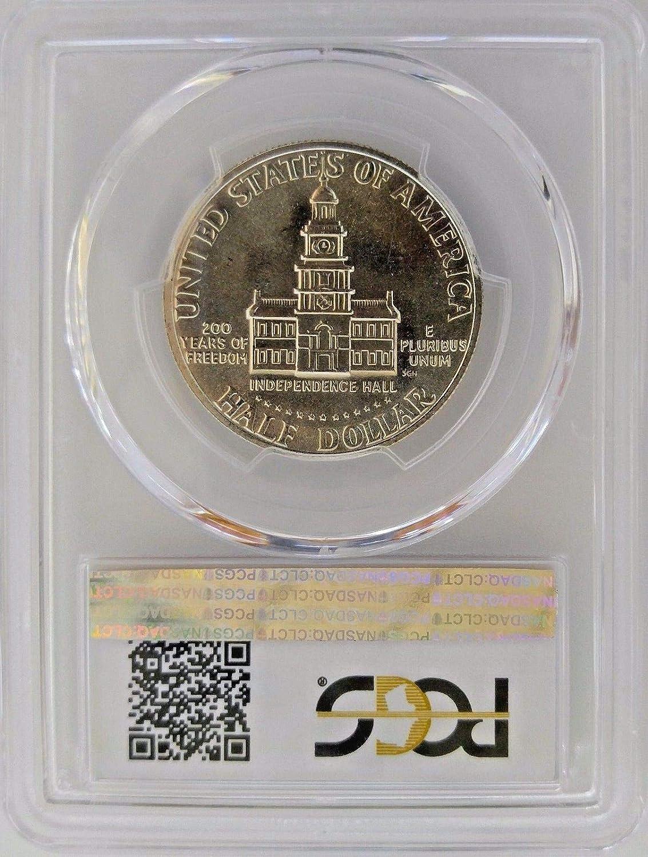 1976 S Bicentennial Half Dollar Double Die Obverse FS-101