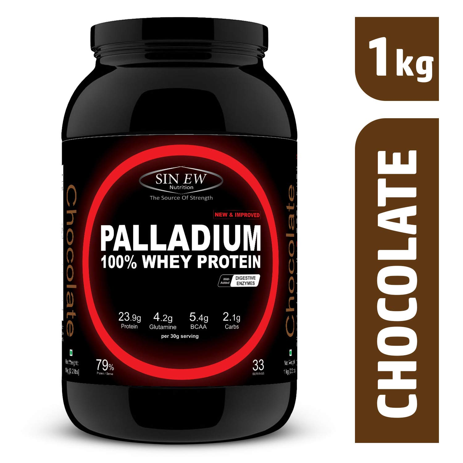 Sinew Nutrition Palladium Whey Protein with Digestive