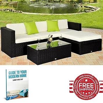 Patio sofá de esquina muebles de ratán para exteriores Lounge silla ...