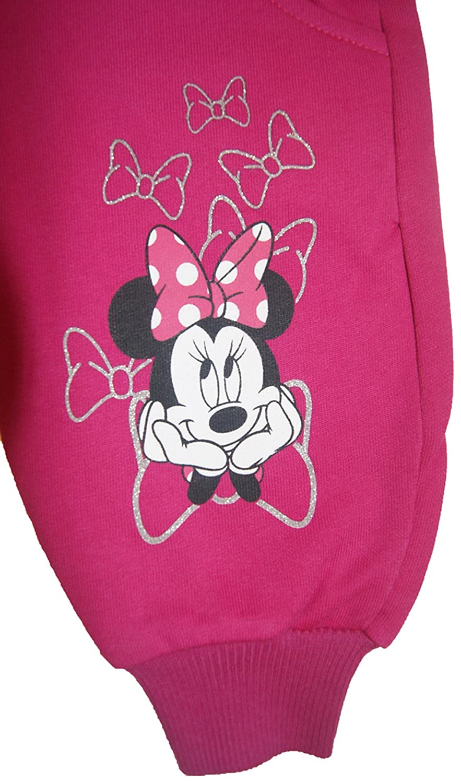 Kleines Kleid Minnie Mouse Latzhose Rosa