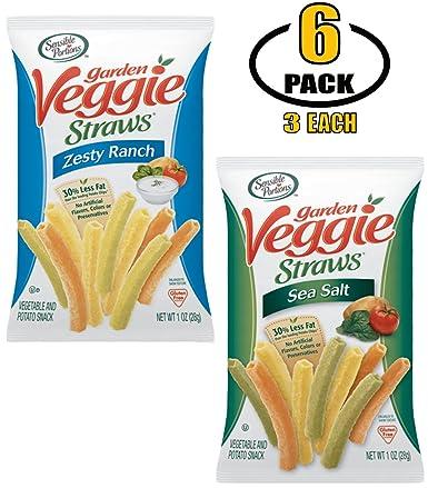 Pajitas para verduras sensibles en bolsas individuales ...