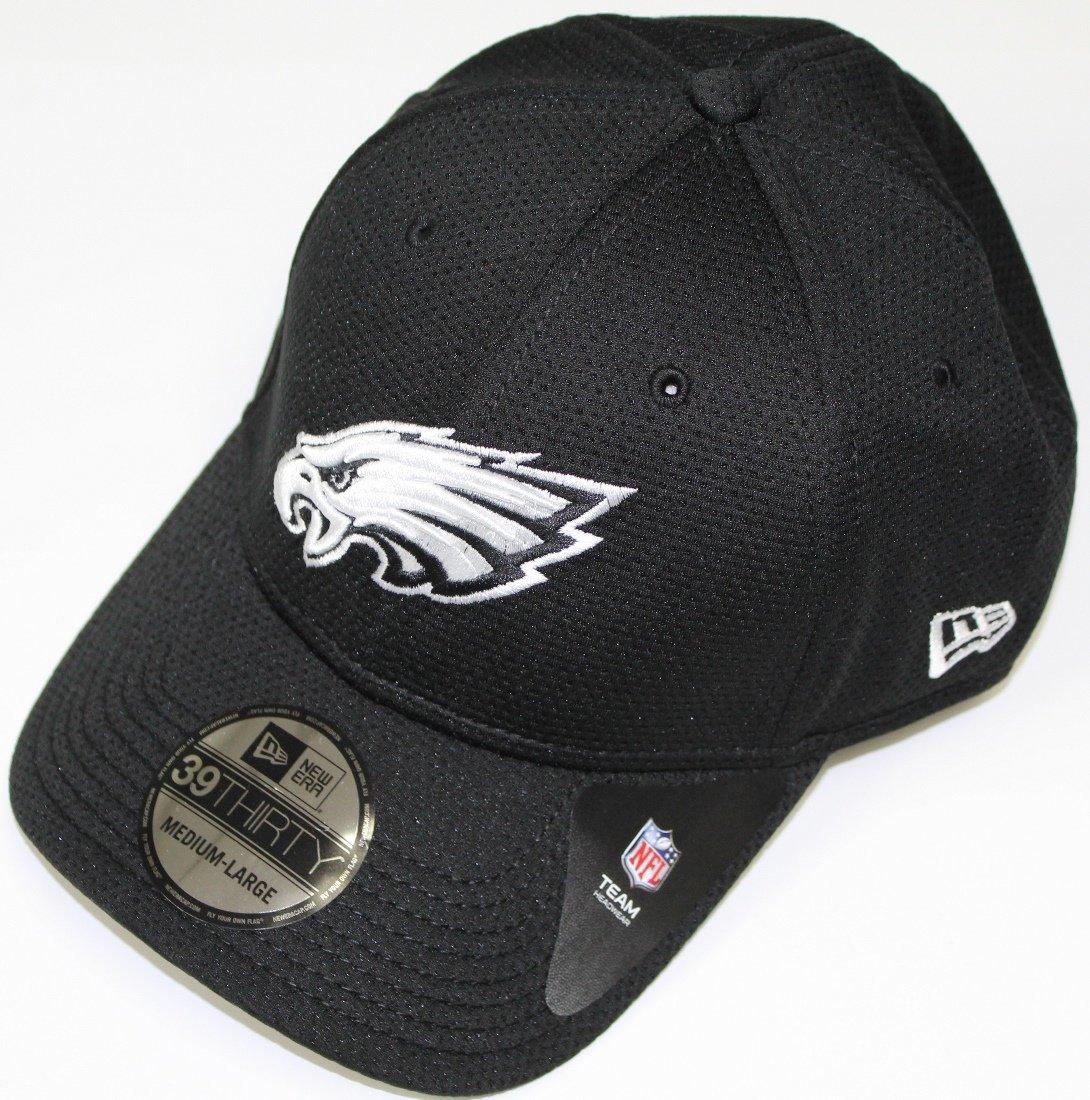 f832ec4d38f77 Amazon.com   New Era Philadelphia Eagles 39THIRTY Black   White Neo  Performance Flex Fit Hat   Sports   Outdoors