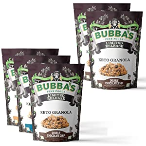 Keto Granola Bundle | Variety Pack with Extra Double Chocolate