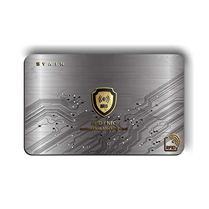 Protección Tarjeta De Crédito Contactless - Protector De ...
