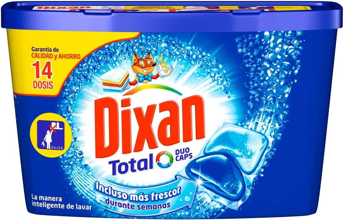 Dixan Detergente Cápsulas Duo-Caps - 14 Dosis: Amazon.es: Salud y ...