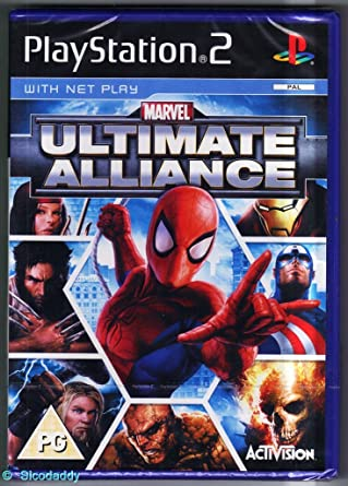 marvel video games ps2