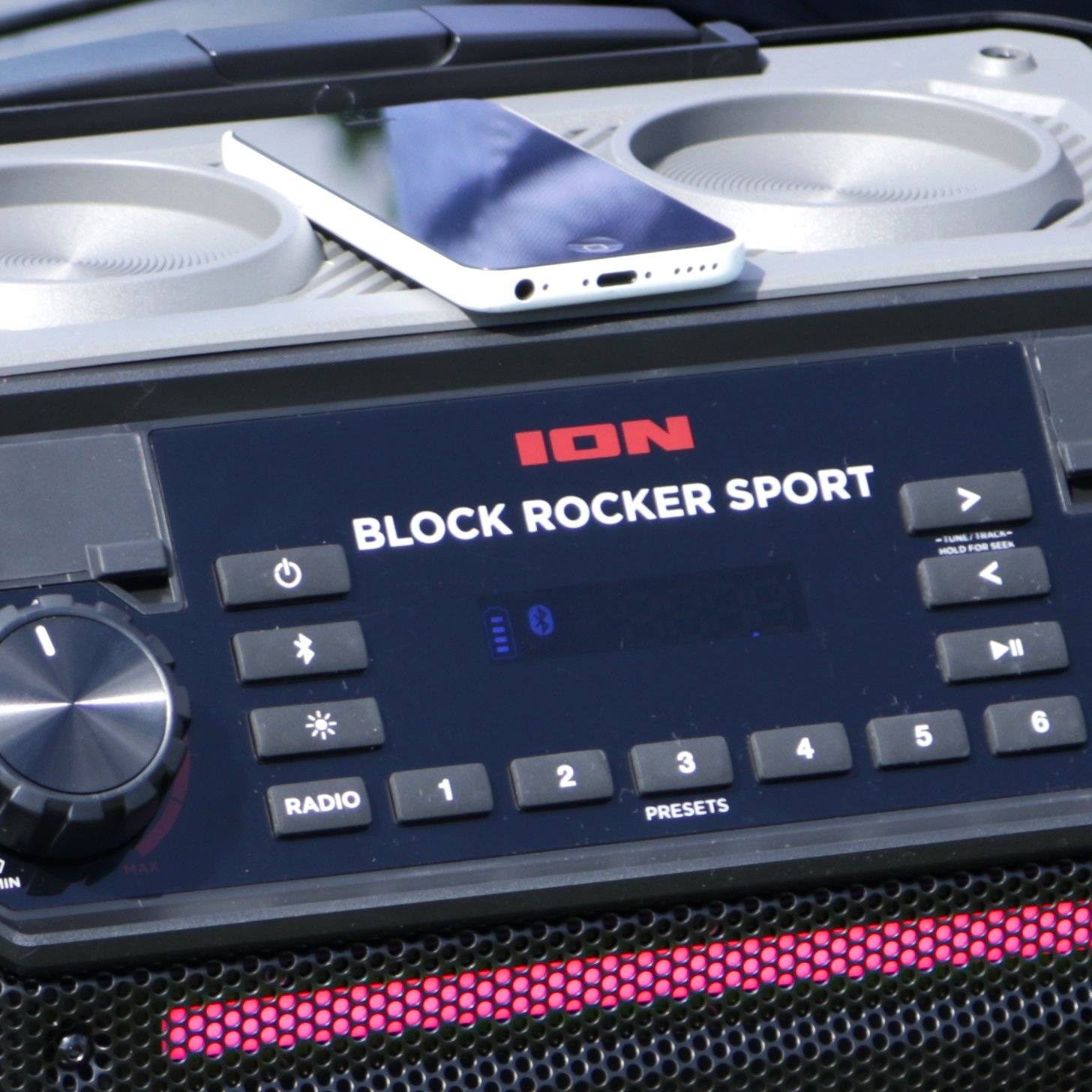 Ion Audio Pathfinder | High Power All-Weather Rechargeable Speaker