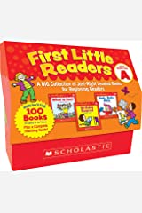 First Little Readers: Guided Reading Level A: A Big Collection of Just-Right Leveled Books for Beginning Readers Paperback