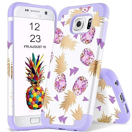 Amazon.com: YINLAI Galaxy S7 Funda de piña Samsung S7 ...