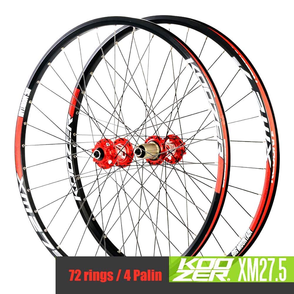 マウンテンバイク MTBホイールセット27.5インチホイールハブ 4 Palin軽量ディスクブレーキ アルミニウム合金   B07NTPPNSK