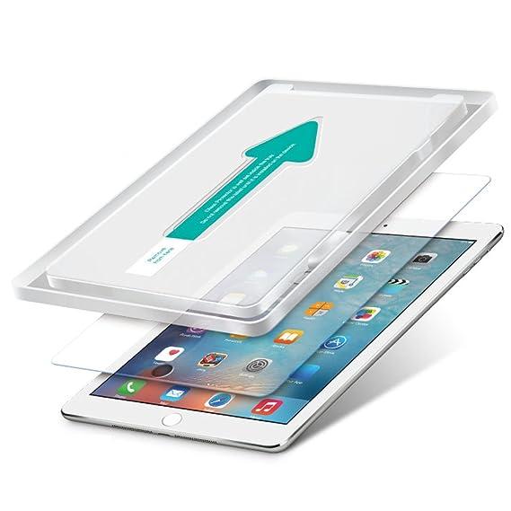 Power Theory Schutzfolie passend für iPad Pro 9.7 / Air 2 9,7 / Air (2 Stück) - Japanisches 9H Panzerglas/Panzerglasfolie, Te