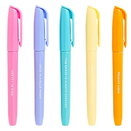 Amazon.com : kikki.K Coloured Pens Permanent Markers ...