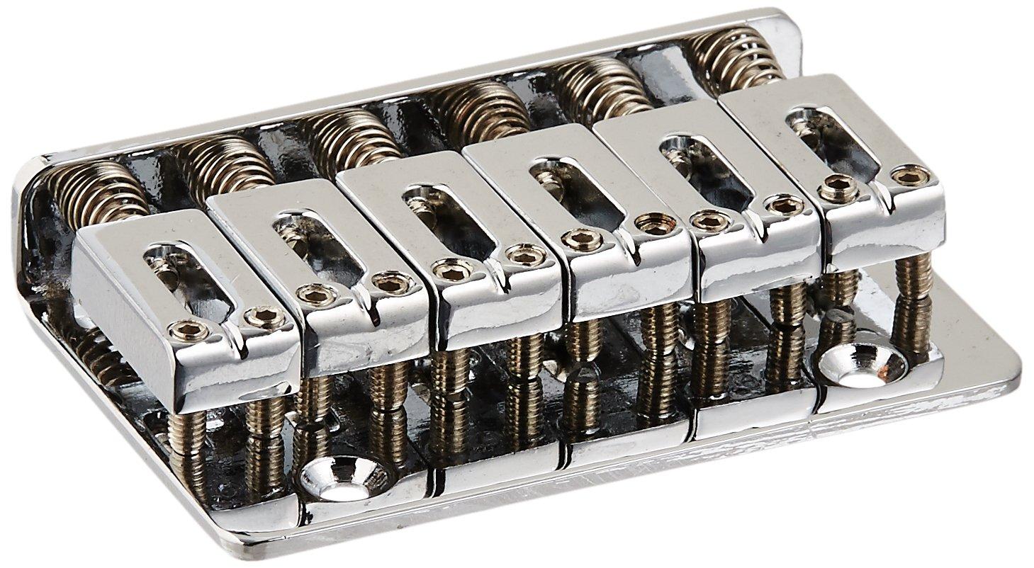 素敵な エレキギターハードテールブリッジサドルfor B0098S1R9I 6ストリングギタークロム B0098S1R9I, Interiorshop COZY:a0f6bd09 --- martinemoeykens.com