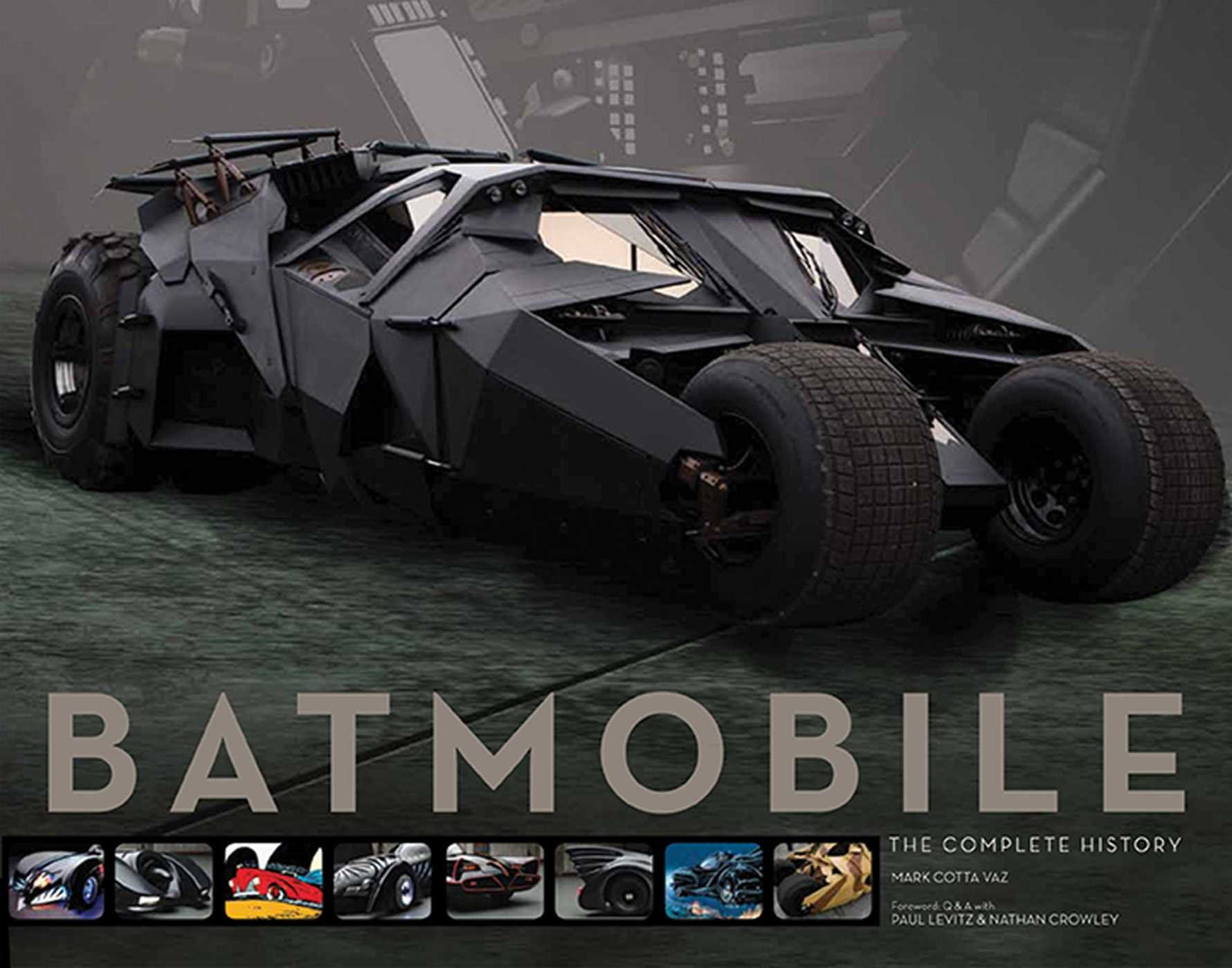 Batmobile: The Complete History: Mark Cotta Vaz: 9781608871032: Amazon.com:  Books