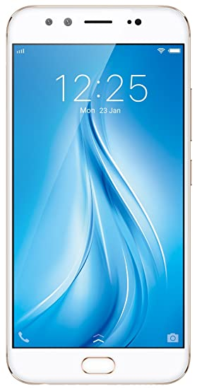 Vivo V5Plus (Gold, 64 GB) (4 GB RAM) Smartphones at amazon