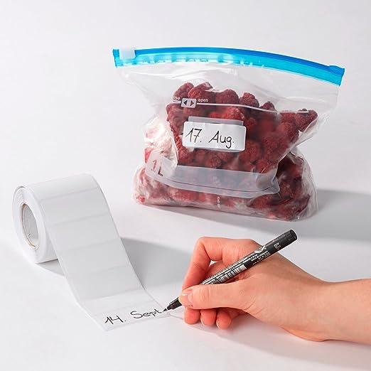 Provence Outillage - Etiquetas adhesivas para congelador: Amazon ...
