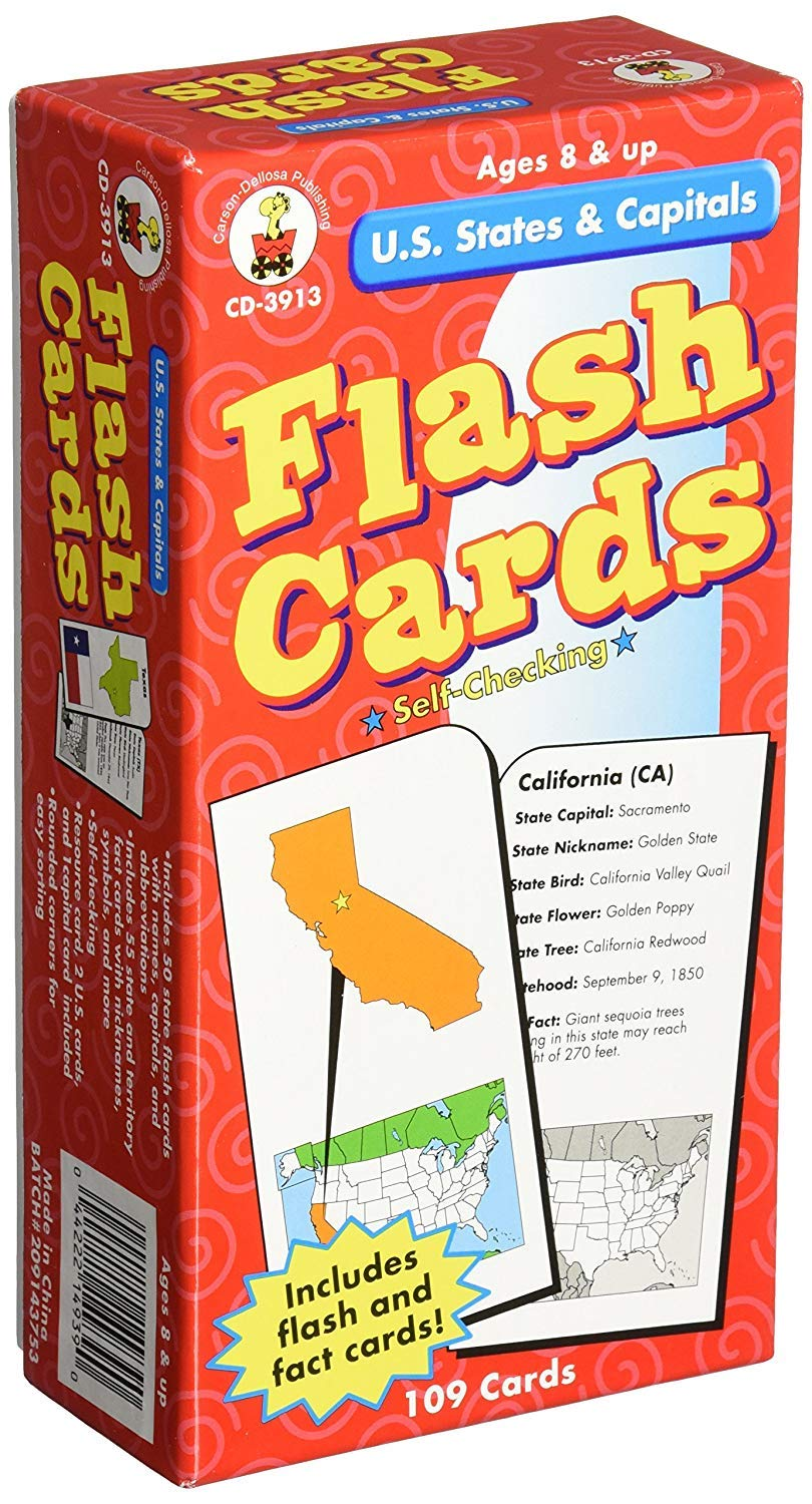 Amazon.com | Publishing U.S States and Capitals (Full pack with Resource card): Carafes & Pitchers